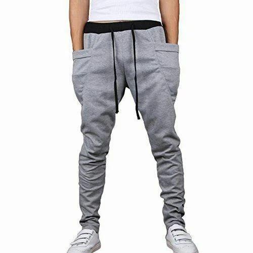 Cotton Linen Men  s Jogger Pants 948fce5543