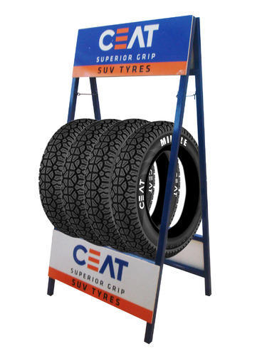 Tyre Stand View Specifications Details Of Tire Display Stand By Best Tire Display Stands