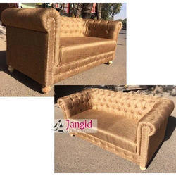Jangid Art And Crafts Indian Leather Canvas Furniture for Hotel