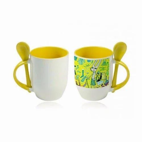 photograph relating to Printable Mugs named Picture Printable Spoon Mugs