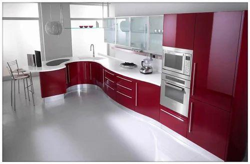 Home interior modular kitchen