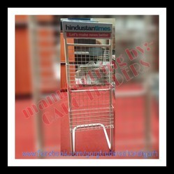 Newspaper Magazine Stand Rack