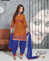 Unstitched Patiala Suit