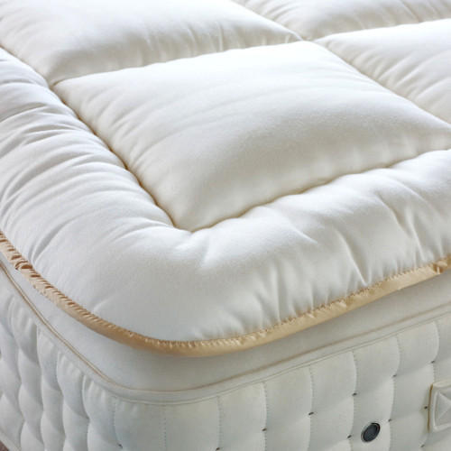 Latex topper memory foam