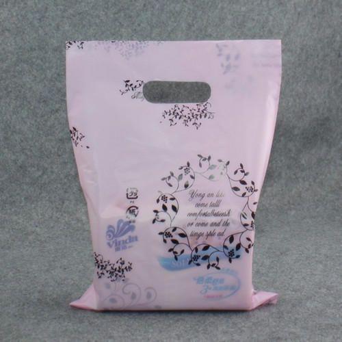 Pink PP Packaging Bag
