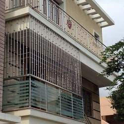 Ms Balcony Railing At Rs 140 Square Feet Mild Steel Railing Id