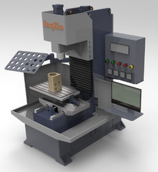open type vertical machining center