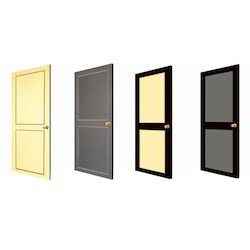 Sliding Polished PVC Doors, For Office, Exterior