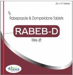 Rabeprazole & Domperidone (Rabeb - D Tablet)