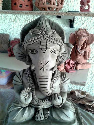 Ecofriendly Ganpati Murti