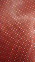 Red Printed Satin Tie Fabric