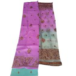 Unstitched Ladies Embroidered Suits Material