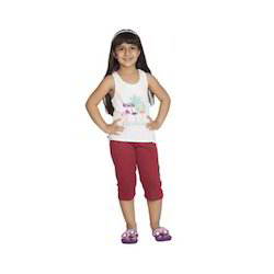 Girl Kids Capri
