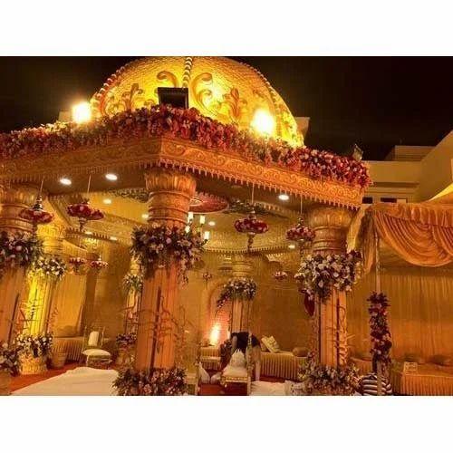 Indian Wedding Mandap At Rs 250000 /unit