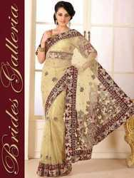 Ladies Saree Hand Embroidery Services