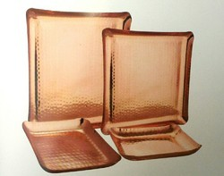 Copper Platters, Packaging Type: Box, Square