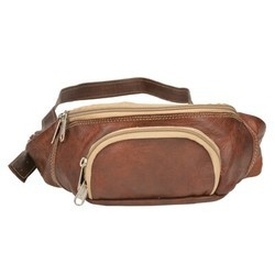 Genuine Leather Traveling Waist Pack WAIST101