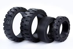 Industrial Solid Press- On Tyres