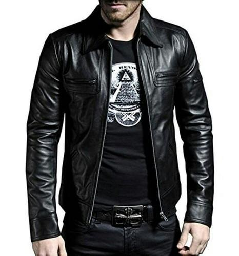 New Fashion Style Men Leather Jacket Gents Leather Jackets