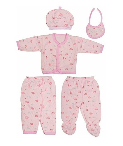 Purplebabe Cotton mix Infant Clothing Sets
