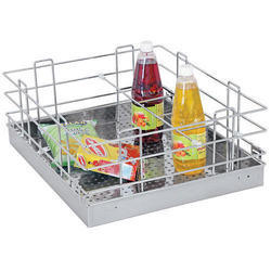 Perforated Sheet Bottle Basket