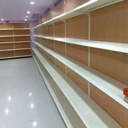 Wooden Supermarket Shelves