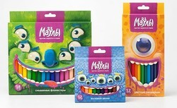Multicolor Crayons Box