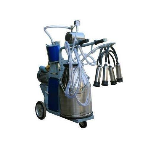 Single bucket Automatic Milking Machine, Rs 23000 /unit VJ Agro Services    ID: 10499605548