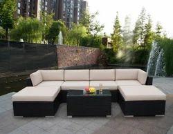 Cane Garden Outdoor Sofa