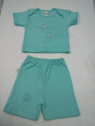 Cotton,Hosiery Unisex Baby Boy Top And Bottom, Age Group: 0-1yr