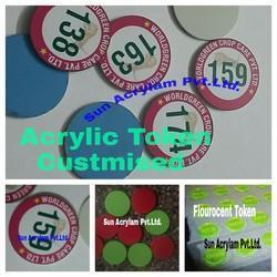Token Acrylic Customised
