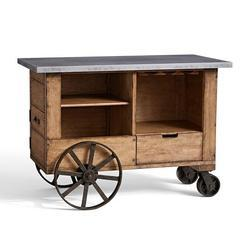 Wood Industrial Wine Trolley, Loading Capacity : >250 kg
