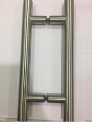 Glass Door H Handle 202 grade