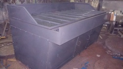 Down Draft Dust Collector Table