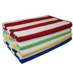 Cotton White Cabana Terry Towels, For Hotel