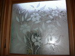 Designer Door Glass