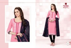 Pure Cotton Regular Wear Salwar Suits