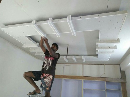 False Ceiling Contractors in Kuniyamuthur, Coimbatore | ID: 10640161288