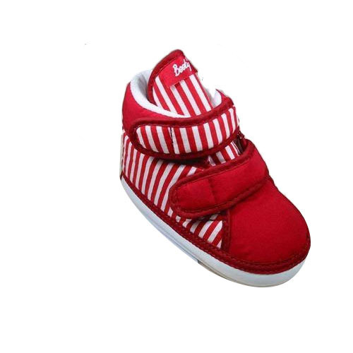 518e760e1ca54 Indman Booty Baby Red High Ankle Shoes