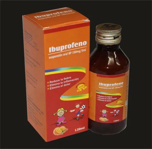 Ibuprofen Syrup 100mg/5ml