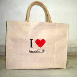 Jute Bag With Customized Print
