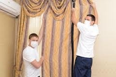 Curtains Cleaning Service