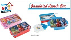 Rollex Steel Inner Insulated Lunch Box