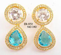 CZ Stone Earring