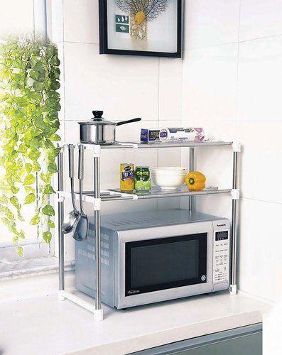 Microwave Oven Rack Kitchen Storage