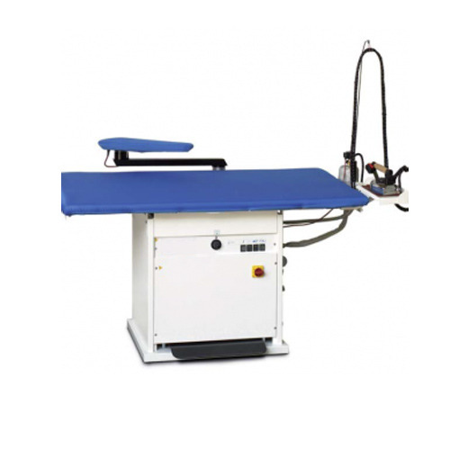 Mildsteel Blue Vacuum Ironing Table, Size: 130*80cms