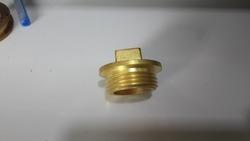 Brass Square Plug
