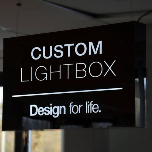 Branded Light Box Displays