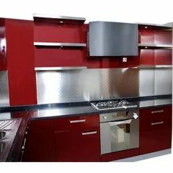 Bryank Interiror Steel Modular Kitchen