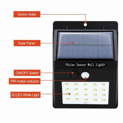 20 led solar motion sensor security light at rs 449 unit airoli 20 led solar motion sensor security light aloadofball Gallery